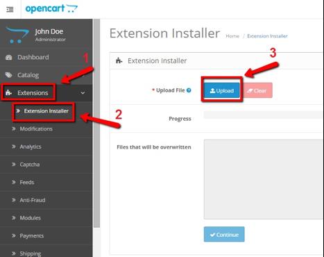 Extension Installer