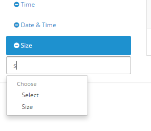 adding option choose