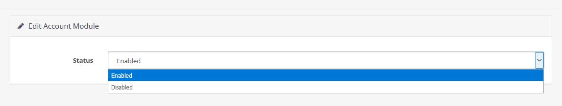 Editing Modules - OpenCart Documentation