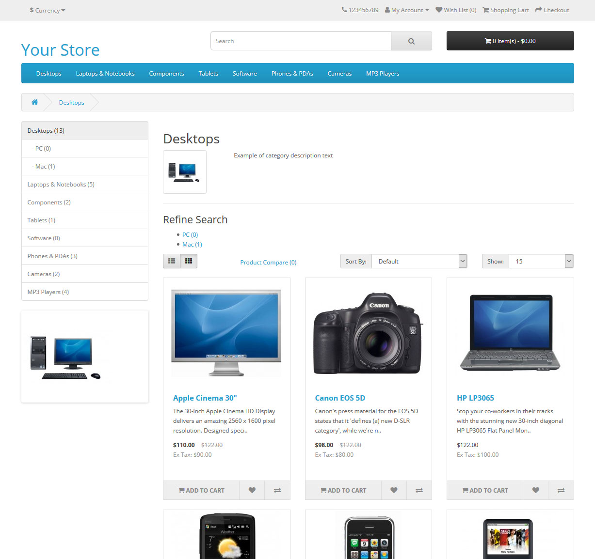 front - official parent category page
