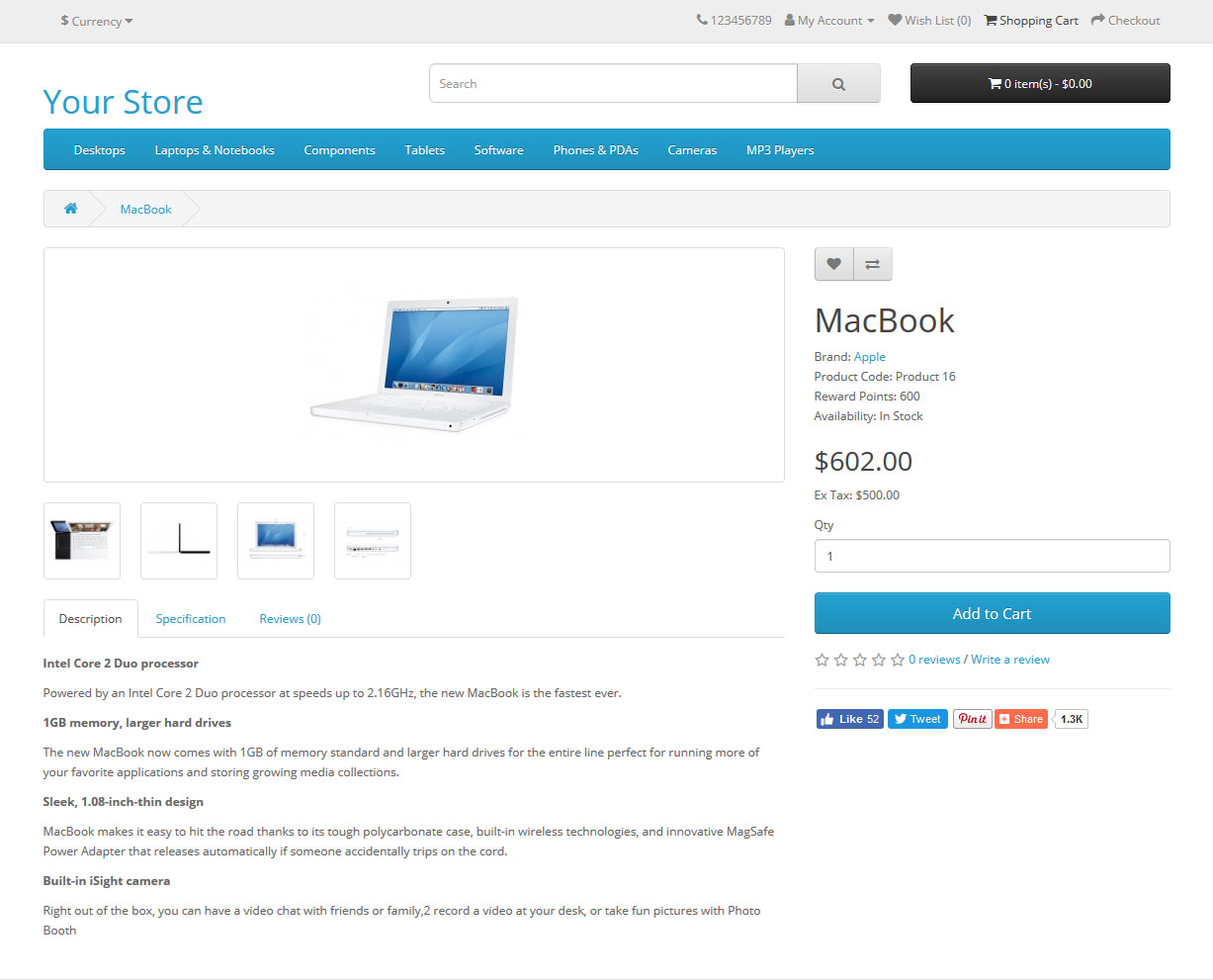 front - official product page